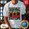 Original Rockin The Baseball Dad Life Vintage Shirt