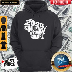 Perfect 2020 Simulated National Champs Hoodie