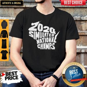 Perfect 2020 Simulated National Champs Shirt