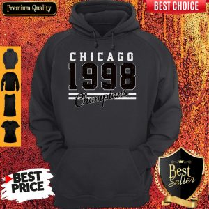 Perfect Chicago 1998 Champions Hoodie