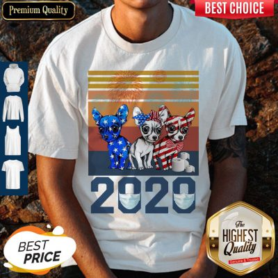 Pretty Chihuahua Independence Day 2020 Vintage Shirt