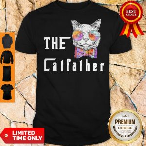 Pretty The Catfather Cat Glasses Shirt