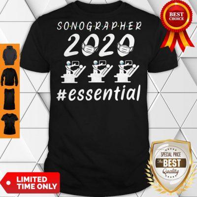 Nice Sonographer 2020 Mask Essential Shirt