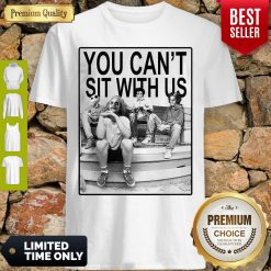Funny Hocus Pocus You Can't Sit With Us Shirt