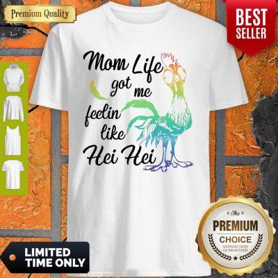 Funny Moana Chicken Mom Life Got Me Feelin Like Hei Hei Sweatshirt