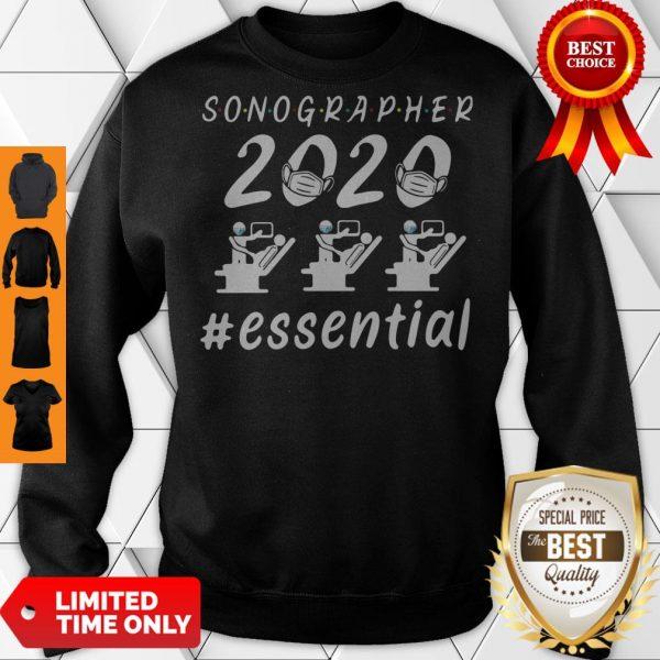 Nice Sonographer 2020 Mask Essential Sweatshirt