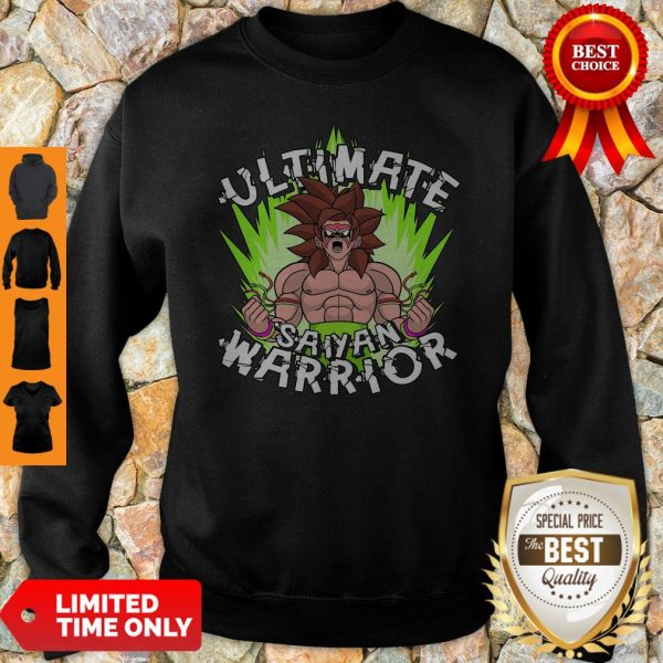 Pretty Ultimate Saiyan Warrior Sweatshirt