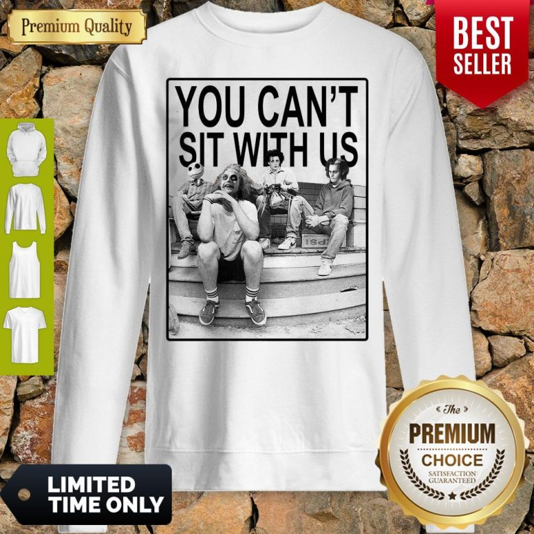 Funny Hocus Pocus You Can't Sit With Us Sweatshirt