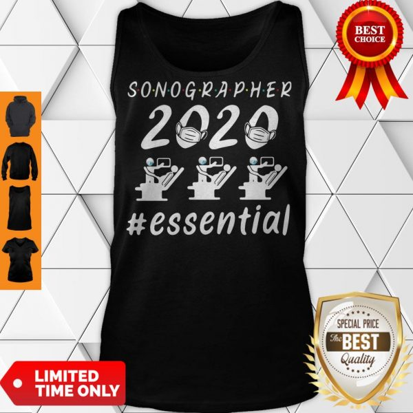 Nice Sonographer 2020 Mask Essential Tank Top