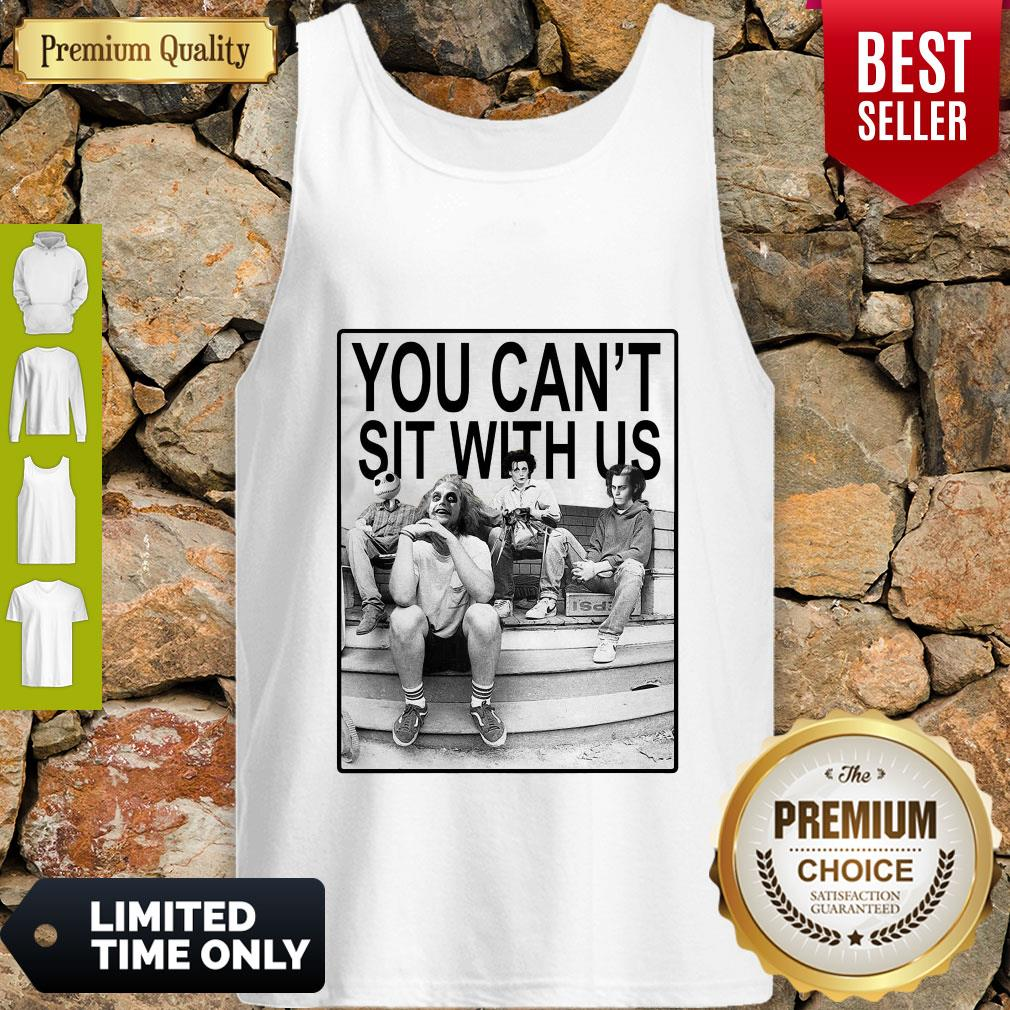 Funny Hocus Pocus You Can't Sit With Us Tank Top