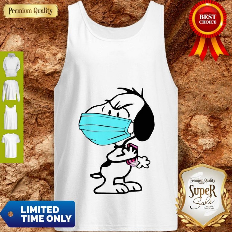 Good Snoopy Wash Your Hands Soap Tank Top