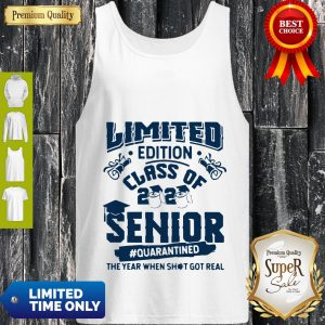 Top Limited Edition Class Of 2020 Toilet Paper Senior Quarantined The Year When Shit Got Real Tank Top