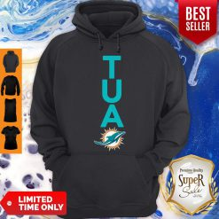 Top Miami Dolphins Tua Logo Hoodie