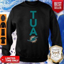 Top Miami Dolphins Tua Logo Sweatshirt