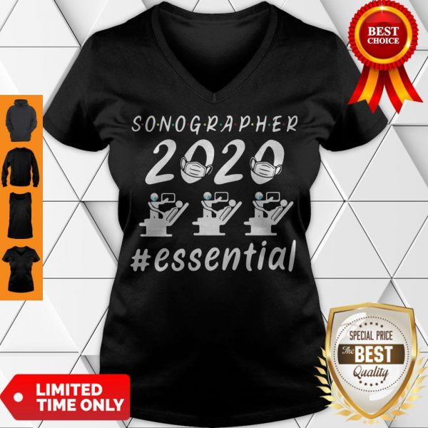 Nice Sonographer 2020 Mask Essential V-neck