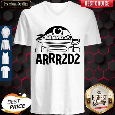 Awesome Arrr2d Star Wars V-neck