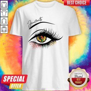 Funny Eye Juneteenth ShirtFunny Eye Juneteenth Shirt