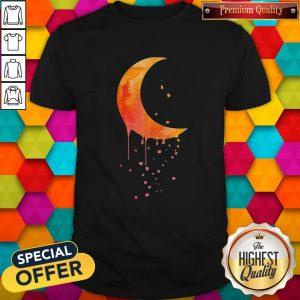 Funny Melting Moon Shirt