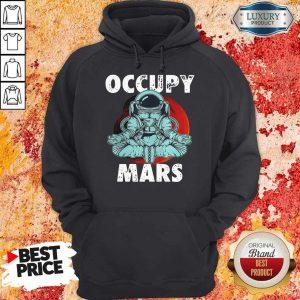 Good Astronaut Occupy Mars Yoga Hoodie