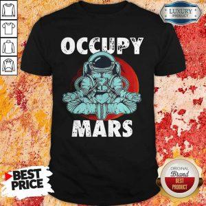 Good Astronaut Occupy Mars Yoga Shirt