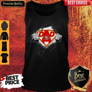 Nice Superhero National Football League San Francisco 49ers Father's Day Tank Top