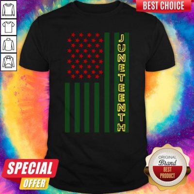Official Juneteenth Flag Shirt