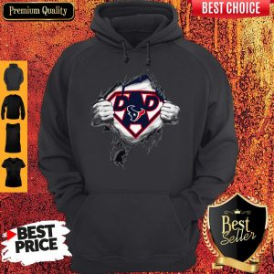 Official Superhero National Football League Houston Texans Father's Day Hoodie