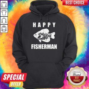 Original Happy Fisherman Hoodie