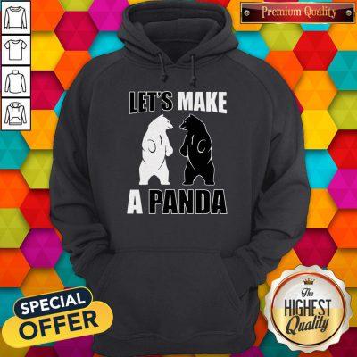 Original Let's Make A Panda Hoodie
