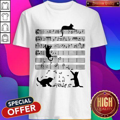 Perfect Cat Playing Music Shirt