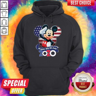 Premium Mickey Mouse Happy 4th Of July 2020 Hoodie