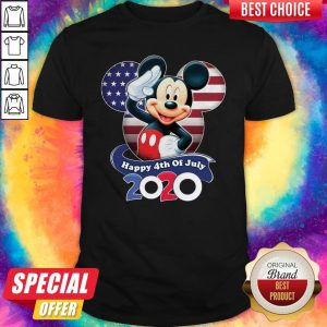 Premium Mickey Mouse Happy 4th Of July 2020 Shirt