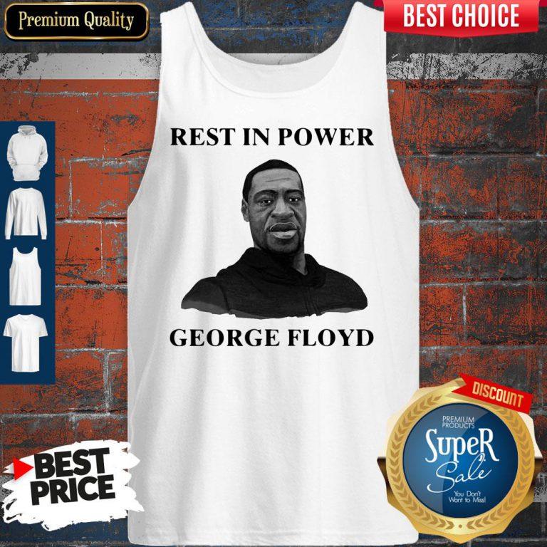 Premium Rest In Power George Floyd Tank Top