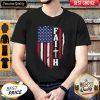 Pretty American Flag Faith Shirt