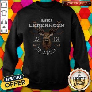 Pretty Mei Lederhosen Is In The Wash Sweatshirt