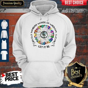 Top Guitars Whisper Words Of Wisdom Let It Be Hoodie