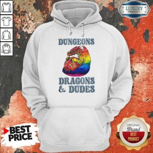 Top LGBT Dungeons Dragons And Dudes Hoodie