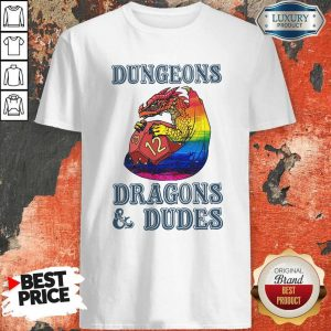Top LGBT Dungeons Dragons And Dudes Shirt