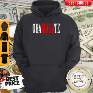 Top Obamagate Red White Version Hoodie