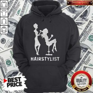 Awesome Girl Hair Stylist Diamond Hoodie