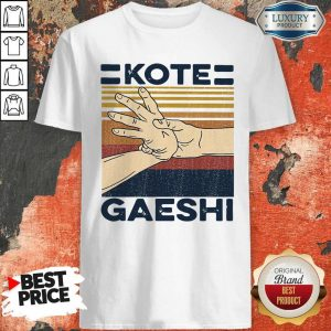 Awesome Kote Gaeshi Vintage Shirt