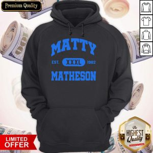 Awesome Matty XXXL Matheson 1982 Hoodie