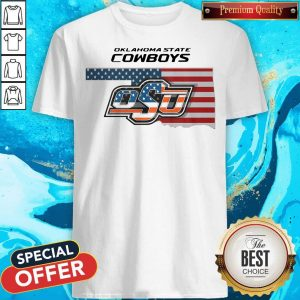 Awesome Oklahoma State Cowboys Osu American Flag Shirt