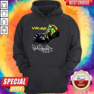 Awesome Valentino Rossi Vr46 Signature Hoodie