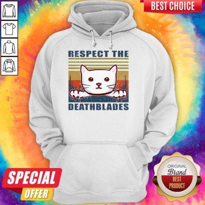 Good Cat Respect The Dreadblades Vintage Hoodie