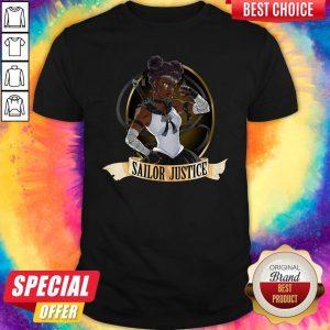 Good Sailor Justice BLM Black Lives Matter Sailor Moon Tee Shirt