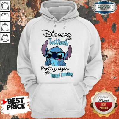 Good Stitch Disnerd With Tattoos Pretty Eyes And Thick Thighs Hoodie