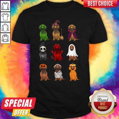 Nice Dachshunds Halloween Shirt