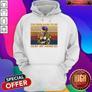 Nice Frieza Infinity Gauntlet You Were Made To Die By My Hand Vintage Hoodie
