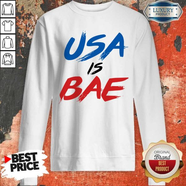 Official Usa Is Bea Blue Black Red Sweatshirt